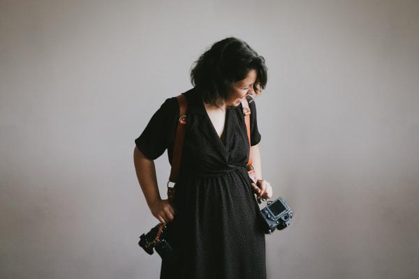 Arnés cuero Teya project fotográfos