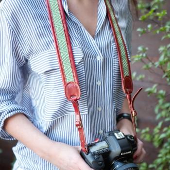 Correas en cuero para fotógrafos