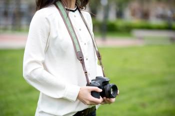 Correa de cuero para fotógrafos
