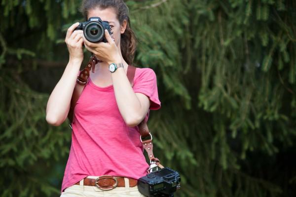 Arnés nampak cámaras fotográficas